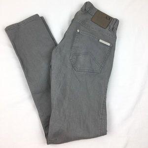 Armani Exchange Grey Skinny Jeans